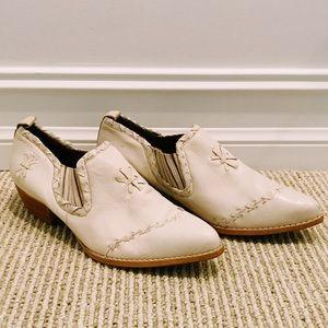 Vintage Nine West Navajo Leather Western Bootie
